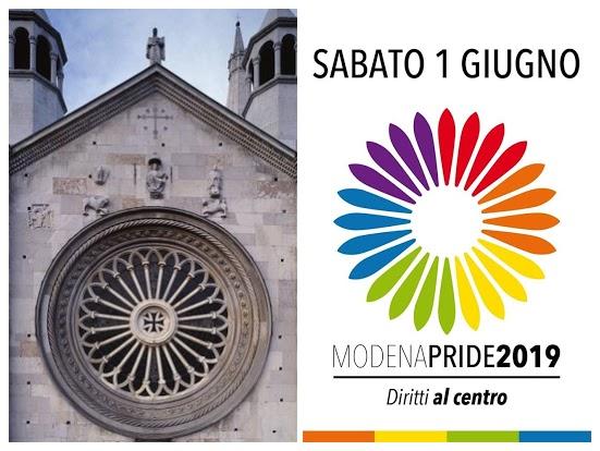"""Modena Pride, comunicato del Comit. """"S. Geminiano Vescovo"""""""