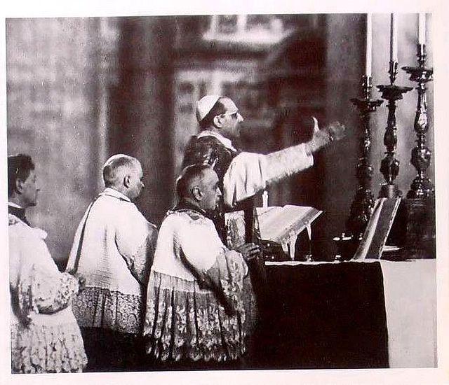 """""""Può il Papa tacere? … No!"""". Un memorabile discorso di Pio XII."""