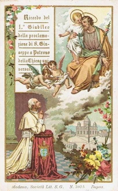 """Quamquam pluries"". La fondamentale Enciclica di Leone XIII su san Giuseppe"