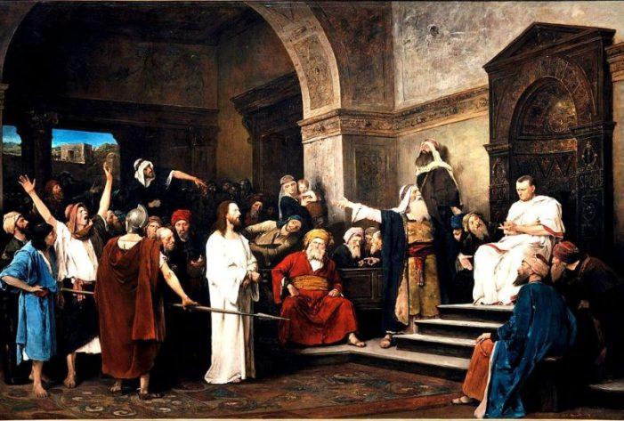 La responsabilità ebraica nella morte di Gesù spiegata da Mons. Spadafora