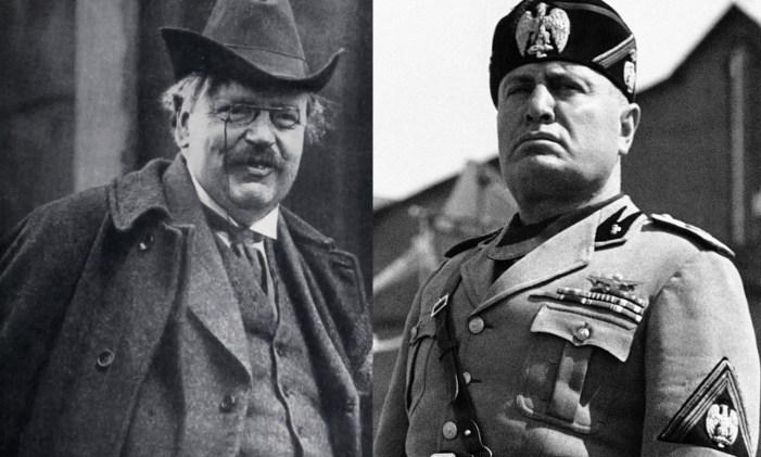 G. K. Chesterton e il fascismo