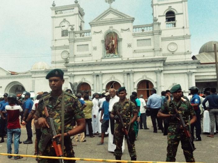 Sri Lanka, Pasqua di sangue