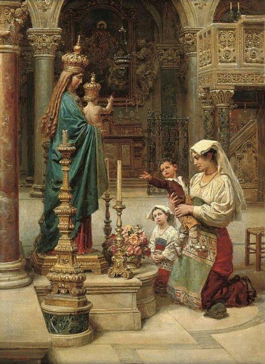 La necessità della devozione mariana in cinque esempi.