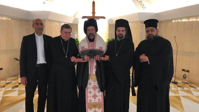 Reliquie di S. Pietro allo scismatico Bartolomeo di Costantinopoli