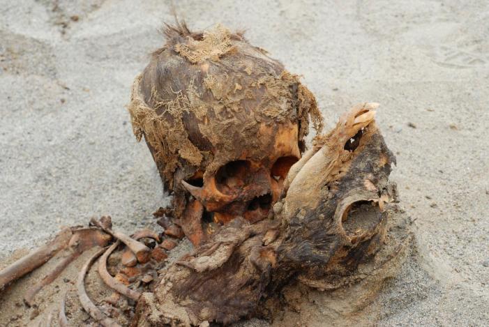 140 bambini sacrificati nel Perù precristiano.