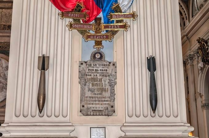 Il miracolo delle bombe inesplose del Pilar di Saragozza