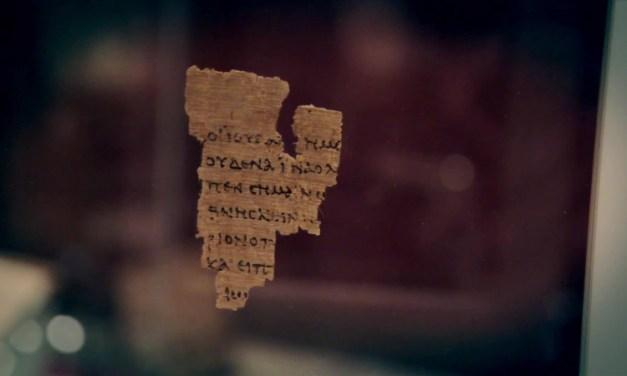 """La Bibbia e le scoperte moderne : il papiro """"P52"""""""