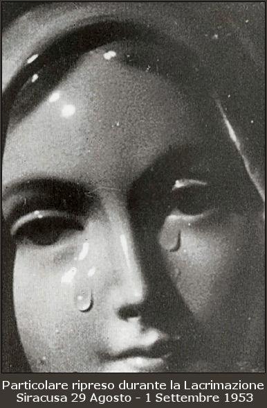 La Madonna della Lacrime di Siracusa.