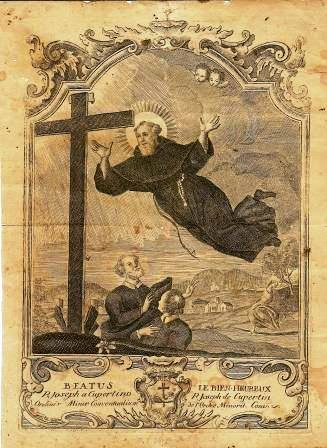 [DIFUNDE TU FE CATOLICA] SAN JOSÉ DE CUPERTINO, el Místico Penitente