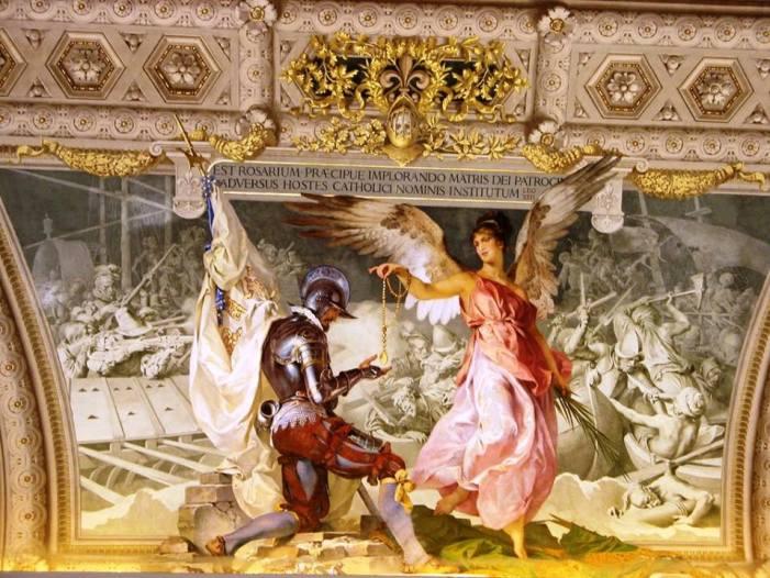 [DIFUNDE TU FE CATOLICA]  NUESTRA SEÑORA DEL ROSARIO, la Victoria sobre los infieles por mediación de la Reina del Cielo