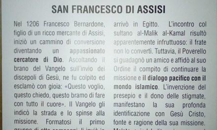 Sassari. Ancora la fake-news di San Francesco dialogante con l'Islam