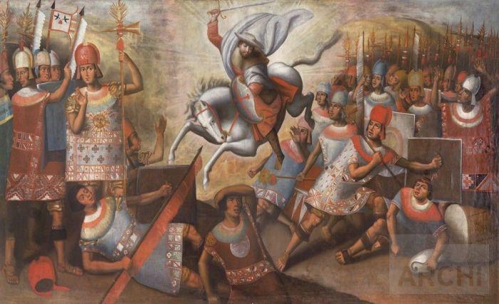 Santiago alla conquista delle Americhe