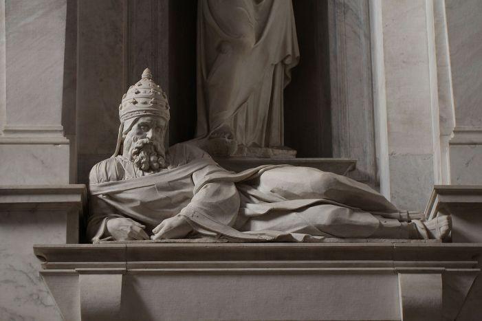 La pia morte del terribile Giulio II