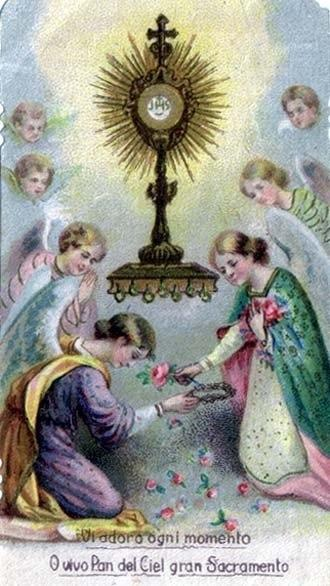 [DIFUNDE TU FE CATOLICA] VISITAS DE AMOR AL SANTÍSIMO SACRAMENTO. VISITA PRIMERA. Por San Alfonso María de Ligorio