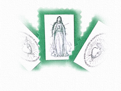 [DIFUNDE TU FE CATOLICA] EL ESCAPULARIO VERDE… Regalo del Inmaculado Corazón de María