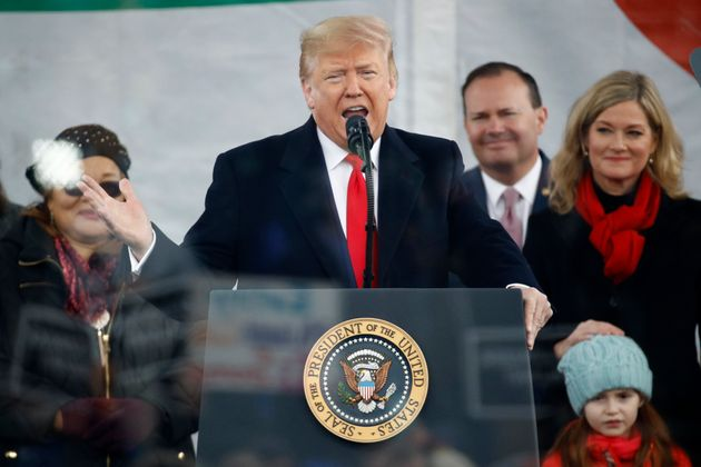 Il discorso di Donald Trump alla Marcia per la vita