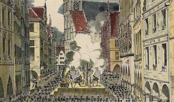 Münster 1534: la dittatura anabattista tra sangue, violenza e isteria collettiva