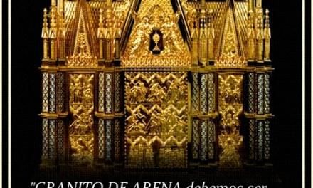 [DIFUNDE TU FE CATOLICA] EL GRANITO DE ARENA…
