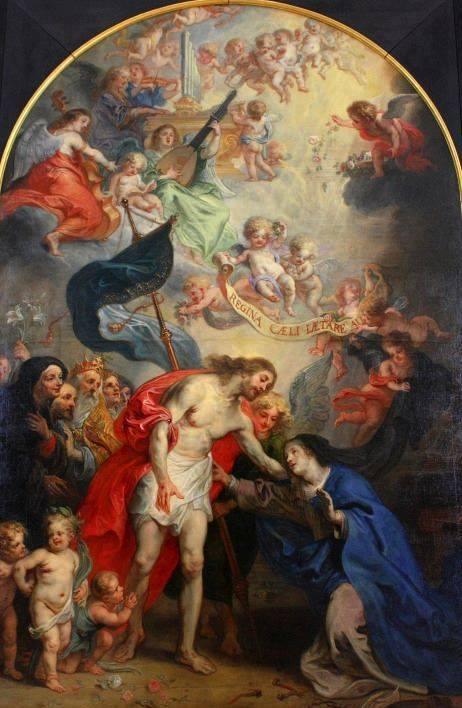 La preghiera del 'Regina coeli'