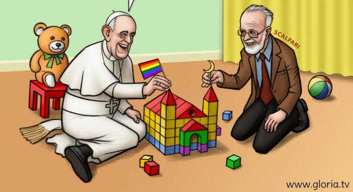 «Fazio, Scalfari & friends? Il giochino rivoltante che Bergoglio conduce con Repubblica»