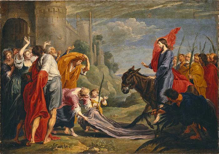 [MEDITAZIONI ALFONSIANE] Gesù entra in Gerusalemme
