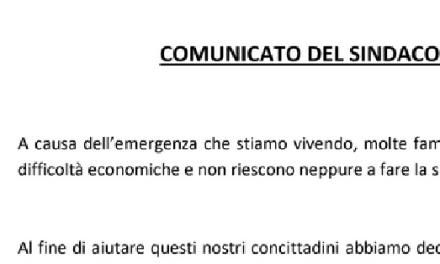 """🔴 Coronavirus. La """"spesa solidale"""" per i beni di prima necessità? In Italia è già realtà."""