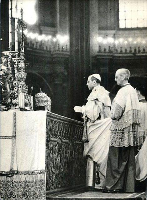 I 50 anni della nuova messa: l'enciclica Mediator Dei di Pio XII