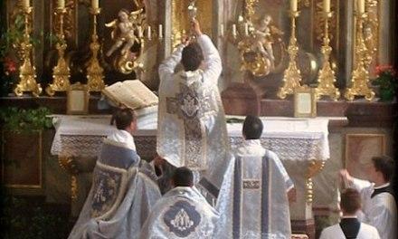 🔴 Arriva da Roma l'inchiesta sull'applicazione nelle diocesi del Motu Proprio Summorum Pontificum
