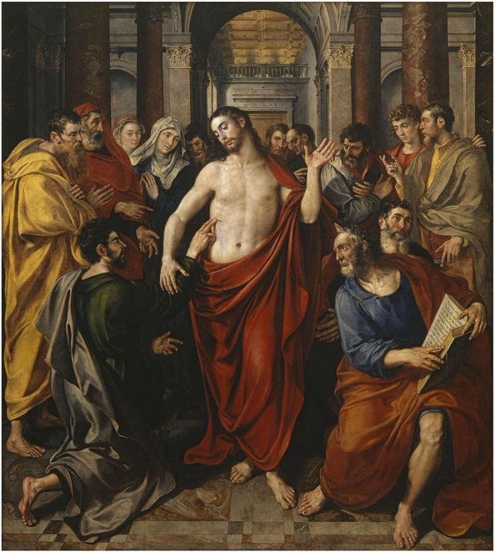'L'incredulità di Tommaso ha giovato a noi molto più che la fede degli altri' (S. Gregorio Magno)