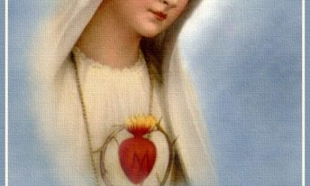 [DIFUNDE TU FE CATOLICA] Primer Sábado de Mes: dedicado a desagraviar, honrar y acompañar al Doloroso e Inmaculado Corazón de María