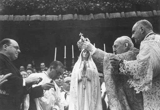 Radiomessaggio di Pio XII per l'incoronazione di Nostra Signora di Fatima