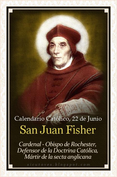 [DIFUNDE TU FE CATOLICA] SAN JUAN FISHER, Mártir de la secta anglicana