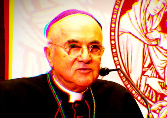 """🔴 L'arcivescovo Viganò demolisce il Vaticano II, critica atti di Wojtyla, parla di """"chiesa parallela"""""""