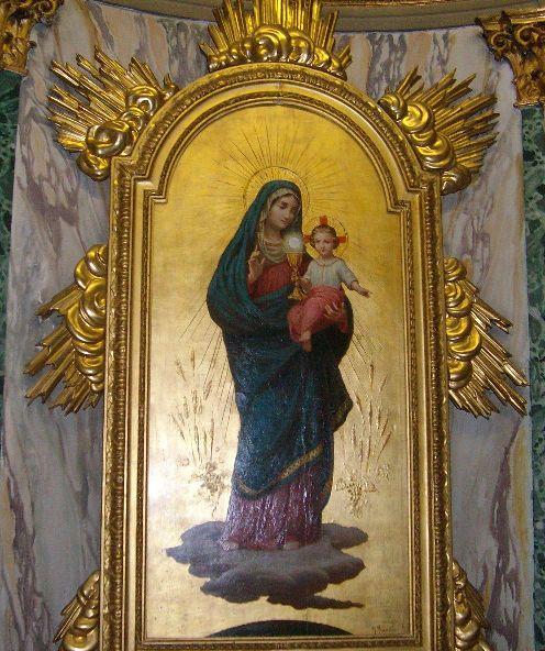 Maria e il Santissimo Sacramento