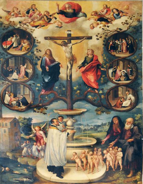 Sangue di Cristo, che dai forza ai sacramenti, salvaci!