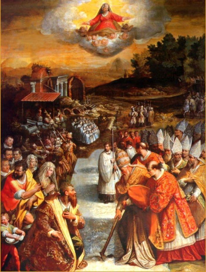 Neve d'agosto. La miracolosa dedicazione di Santa Maria Maggiore.