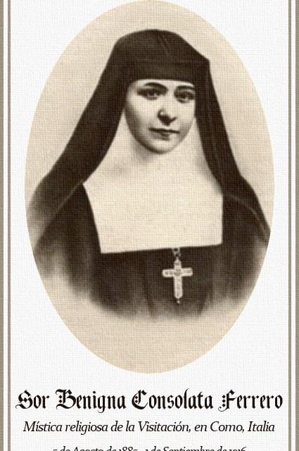 [DIFUNDE TU FE CATOLICA]  SOR BENIGNA CONSOLATA, ejemplo de entrega sin reservas al Sagrado Corazón de Jesús