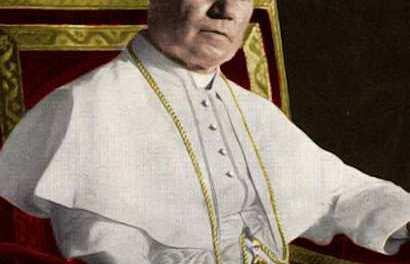 """San Pio X commenta e condanna il """"giubileo della Terra"""""""