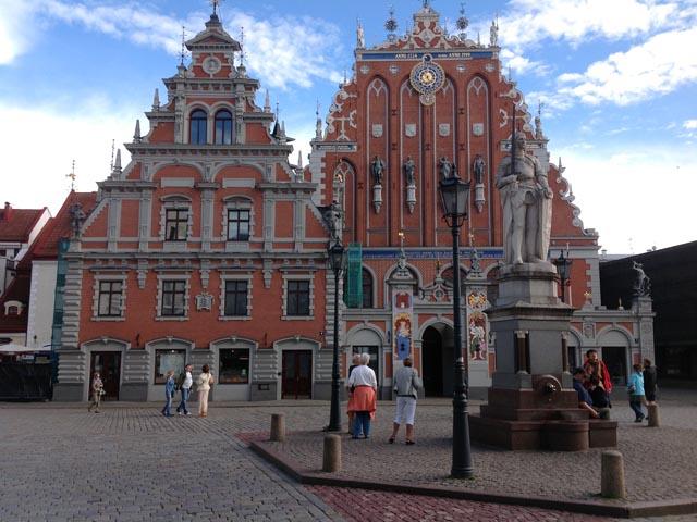 Municipio e casa delle teste nere Riga
