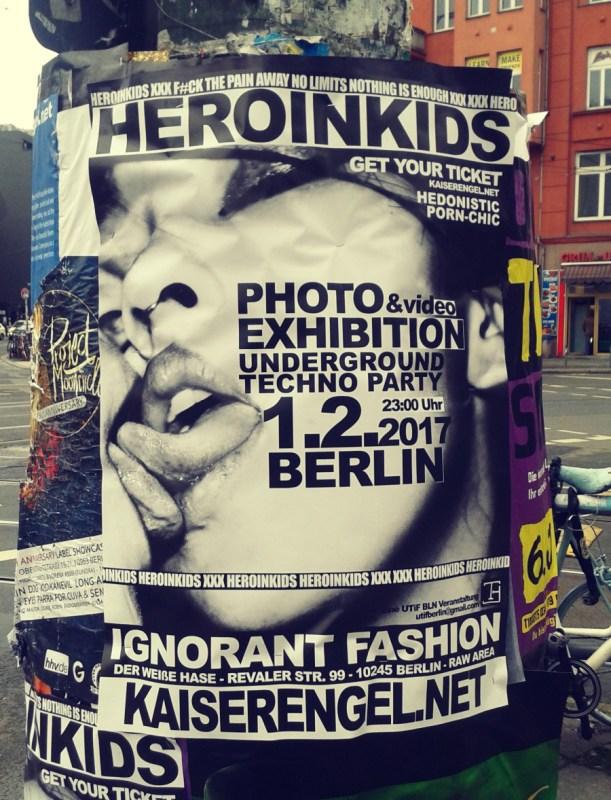 Manifesti a Berlino