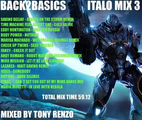 Back2Basics Italo Mix 3 Tony Renzo