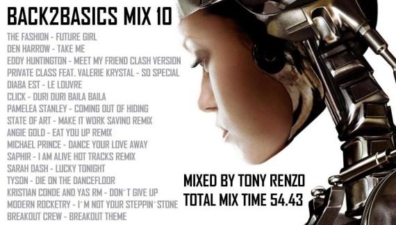 Back2Basics Mix 10 Tony Renzo