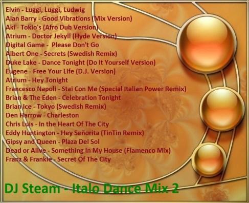 DJ Steam - Italo Dance Mix 2