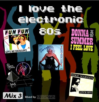I love the electronic 80s mix 3