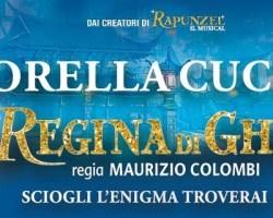 """Lorella Cuccarini e Pietro Pignatelli ospiti a POLTRONISSIMA e il backstage de """"La Regina Di Ghiaccio – Il Musical"""""""