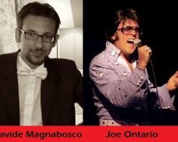 """Maurizio Colombi e Davide Magnabosco per """"Caveman"""", Joe Ontario e Michel Orlando protagonisti di""""Elvis The Musical"""" ospiti a POLTRONISSIMA"""