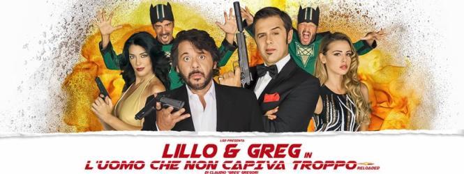 """LILLO & GREG e tutto il cast de """"L'uomo che non capiva troppo – Reloaded"""" ospiti a POLTRONISSIMA"""
