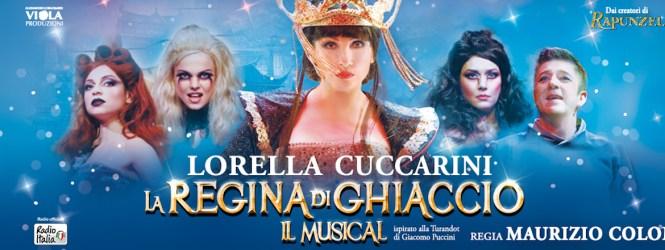 """Lorella CUCCARINI, Federica BUDA, Silvia SCARTOZZONI e Daniela SIMULA ospiti a POLTRONISSIMA per  """"La Regina di Ghiaccio Il Musical"""""""