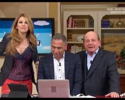 Very Normal TRASH of 2017 – 6a Posizione: Giancarlo Magalli contro Adriana Volpe [Video]