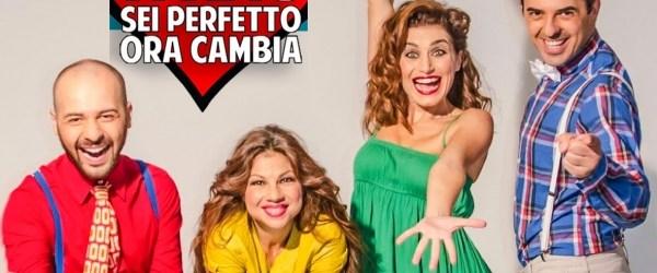 """Valeria MONETTI, Daniele DEROGATIS e Andrea PALOTTO ospiti di POLTRONISSIMA per """"Ti amo, sei perfetto, ora cambia"""""""